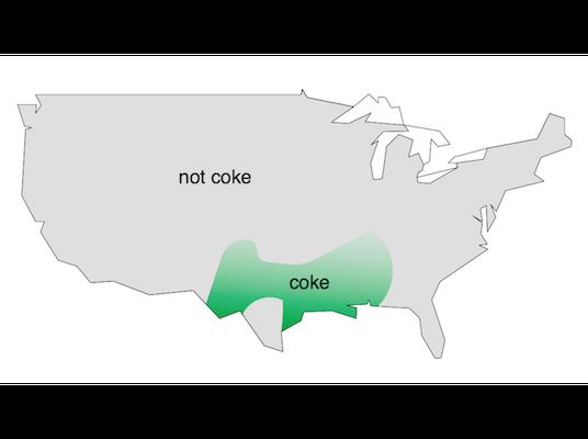 Coke vs not coke