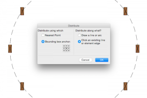 Align and Distribute in ArchiCAD