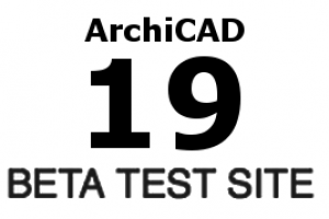 ArchiCAD 19 Beta test 2