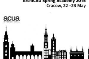 ACUA ArchiCAD Spring Academy 2015