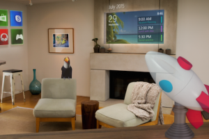 hololens holographic projection